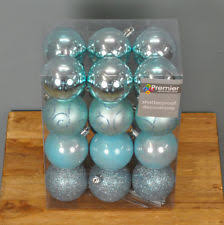 Christmas Decorations Duck Egg Blue by Blue Christmas Tree Ornaments Ebay