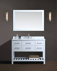 36 bathroom vanity traditional with glass block white chair rail