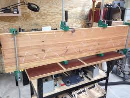 table top glue up cozad guitars articles the floor joists that were hiding a table
