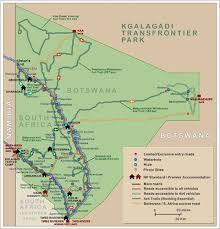 africa map kalahari kalahari c maps