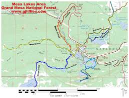 Beaver Lake Map Gjhikes Com Lost Lake