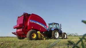 new holland roll belt 560 round baler features youtube