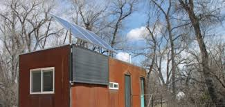 house with solar taking a tiny house grid home power magazine