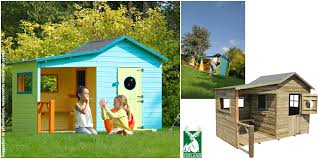maisonnette de jardin enfant maisonnette en bois hacienda cerland cabane jardin pour