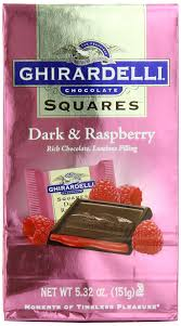 amazon com ghirardelli chocolate squares dark u0026 raspberry
