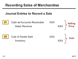 record sale price accounting for merchandising operations 5 learning objectives