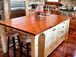 Kitchen Island With Seating Butcher Block Del - Kitchen butcher block tables