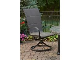 Swivel Rocker Patio Dining Sets - outdoor greatroom empire aluminum swivel rocker dining chair set