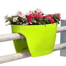 railing planters pots u0026 planters the home depot