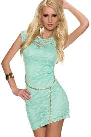 light green dress with sleeves woman s stylish clothing shoes lace dress
