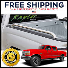 Ford Raptor Truck Bed Mat - raptor stainless steel truck side rails 1980 1996 ford f 150 250