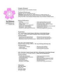 Graphics Design Resume Sample by Graphic Design Resume Resume Tips Pinterest Resume Designs