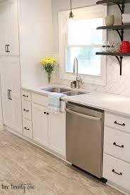 diy kitchen backsplash on a budget a kitchen makeover small makeovers before and after decoration on