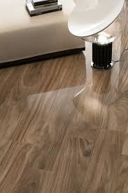 Glossy Laminate Flooring Jungle Nut Shiny Wood Look Tile Padron Flooring