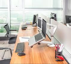 Macbook Pro Desk Mount Oa 9 Dual Desktop Mount Holder For Macbook Air Pro Ipad Air 2 10