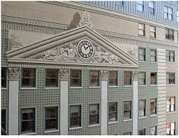 architectural tiles glass and ornamentation in new york wall the mural from richard haas website