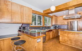 How Many Square Feet In Half An Acre Updated Midcentury Home With Cork Flooring Asks 719k Curbed