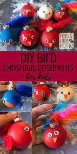 bird ornament diy craft for feels like home