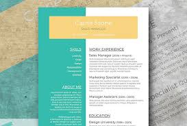 creative resumes templates clean and creative resume 30 amazing