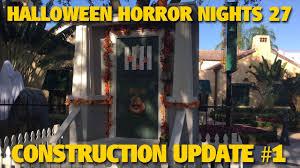 halloween horror nights 27 construction update universal studios