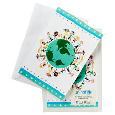 unicef around the world cards box of 16 boxed