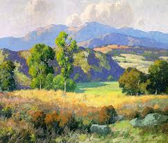 Impressionist Landscape Painting by Braun Oil Paintings Landscape