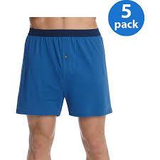 hanes s freshiq comfortsoft waistband knit boxer 5 pack