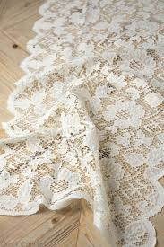 ivory lace table runner ivory lace table runner 18 x 96 quick candles