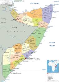 Africa Political Map by Detailed Clear Large Map Of Somalia Ezilon Maps