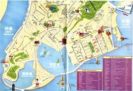 map with attractions macau map tourist attractions new zone
