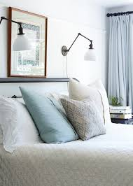 Headboard Reading Light Reading Light Sconces Over Bed Bedroom Ideas Pinterest