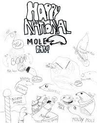 happy national mole wintercool612 deviantart