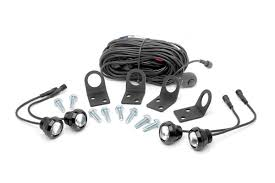 universal led rock light kit rough country suspension systems