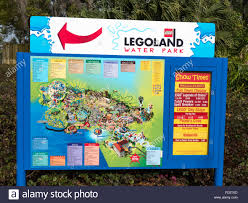 A Map Of Florida by A Sign In Legoland Showing A Map Of The Theme Park Part Of The