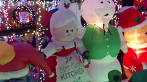 airblown inflatable christmas display 2016 award winner youtube