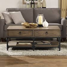 Lowes Coffee Table by Shop Crosley Furniture Trenton Coffee Table At Lowes Com