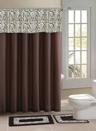 Bathroom Rug And Shower Curtain Sets Home Dynamix Designer Bath Shower Curtain And Bath Rug Set Db15z