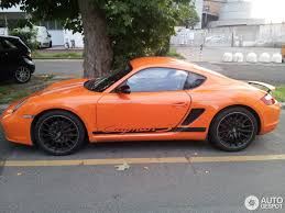 orange porsche porsche cayman s sport 7 july 2014 autogespot