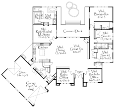 modern style house plan 4 beds 3 50 baths 3996 sq ft plan 509 9