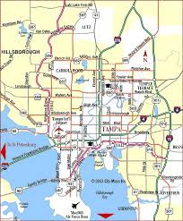 florida highway map road map of ta ta florida aaccessmaps com