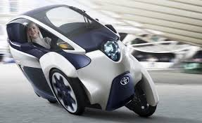 world auto toyota toyota i road is an electric scooter that drives like a car
