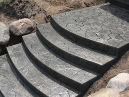 concrete design des plaines concrete steps des plaines step design des plaines