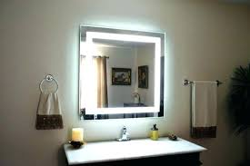 battery operated mirror lights large battery operated bathroom mirrors light up mirror image