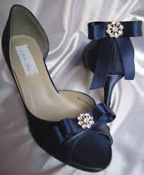 wedding shoes navy blue navy blue wedding shoes with navy satin ribbon bow
