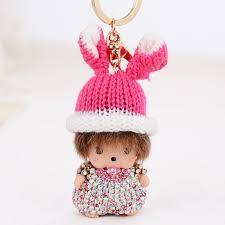 baby keychains aliexpress buy rabbit hat monchichi baby keychains