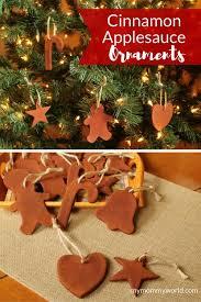 cinnamon applesauce ornaments recipe ornaments