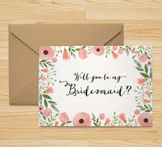 will you be my bridesmaid invitation free printable will you be my bridesmaid card wedding and