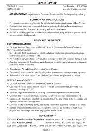 Sample Resume For Customer Service Supervisor by Pretty Design Sample Resume For Customer Service 11 Hospitality