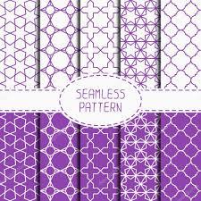 moroccan wrapping paper set of geometric lattice seamless arabic pattern islamic