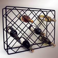Bakers Wine Racks Furniture Iron Wine Rack Purcahsed For Your Home U2014 Wedgelog Design